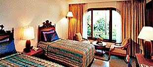 Taj Fort Aguada Resort Goa, India: Our Exquisitely designed guest room.